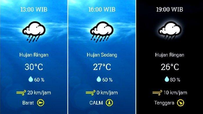 Prakiraan cuaca Kecamatan Kota Bogor, Bogor, Jawa Barat, pada Minggu 13 Desember 2020