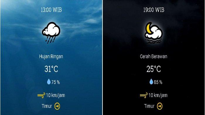 Prakiraan cuaca Kecamatan Kotabaru, Kabupaten Karawang, Jawa Barat pada Minggu 11 Oktober 2020