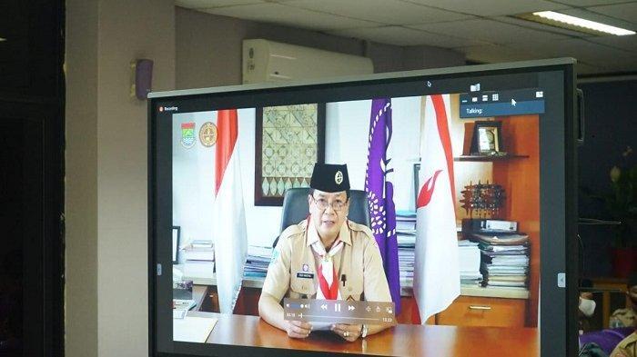 Gelang Ajar Pembinaan Pramuka di Tangerang Dilakukan Secara Virtual