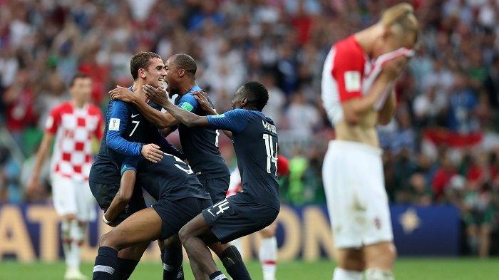 Hanya Juara Dua Piala Dunia, Pemain Kroasia Mendapatkan Standing Ovation