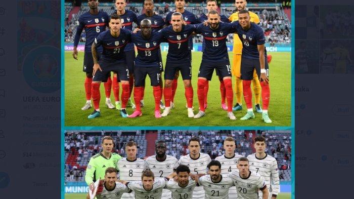 Sedang Berlangsung Timnas Prancis vs Jerman 1-0, Gol Bunuh Diri Mats Hummels