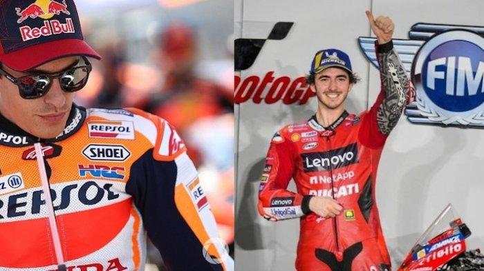 Motogp Italia 2021 Siapa yang Paling Berpeluang di Posisi I? Marc Marques atau Francesco Bagnaia