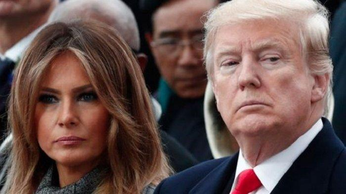 RAHASIA Donald Trump-Melania Terbongkar, di Gedung Putih Tidur Terpisah, Istri Dapat Warisan Rp700 M