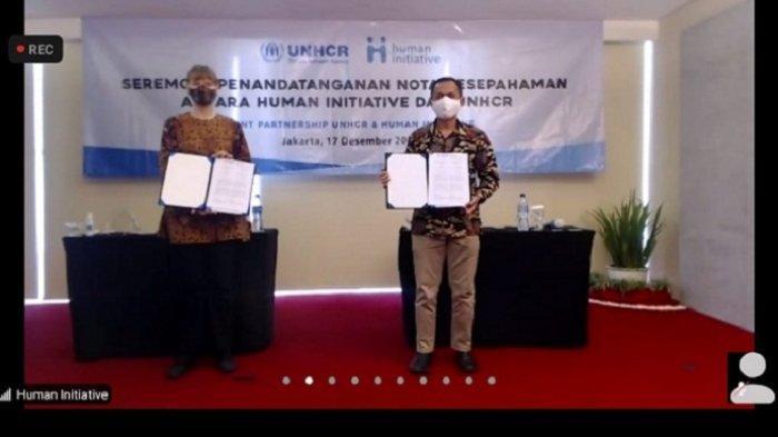 Kolaborasi Human Initiative dan UNHCR dalam Penggalangan dan Penyaluran Dana bagi Pengungsi di Dunia