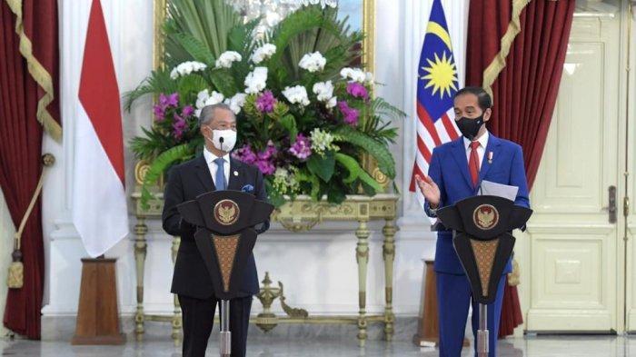 PM Malaysia dan Presiden Joko Widodo Bahas Krisis Myanmar di Istana