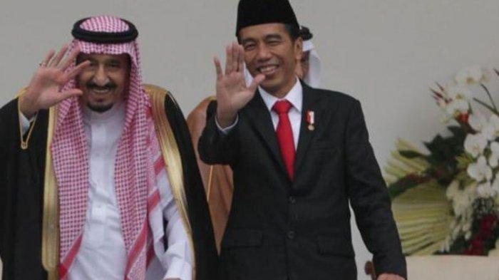 PRESIDEN Jokowi Telepon Raja Salman bin Abdul Azis, Bicarakan 3 Hal Penting Termasuk Ibadah Haji