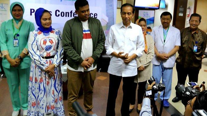 Syukuran Cucu Jokowi Akan Digelar di Jakarta dan Medan