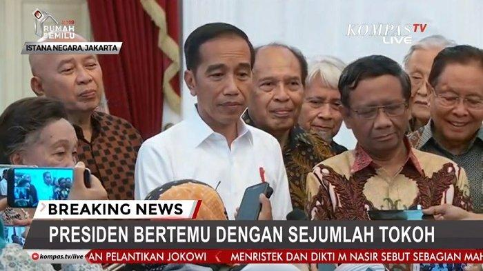 Jokowi Curhat kepada Mahfud MD: Bagaimana Itu Kasus Novel Baswedan? Saya Loh yang Dibully