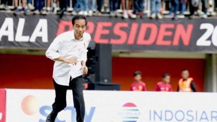 Presiden Joko Widodo Bakar Hadir di Partai Final Piala Presiden 2019, Polisi Kerahkan 3.000 Personil