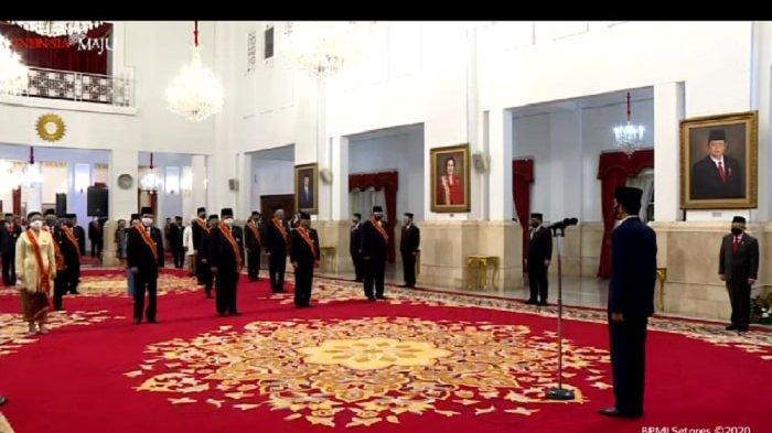 DAFTAR Lengkap Penerima Tanda Kehormatan dan Bintang 2020 dari Jokowi, Gatot Nurmantyo Absen
