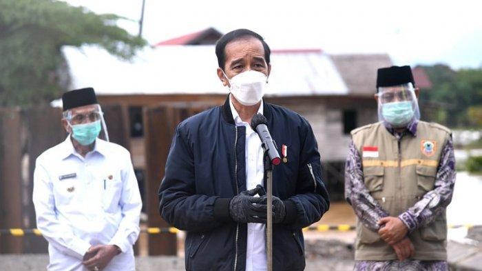 Jokowi Dikritik setelah Kambing Hitamkan Hujan dan Sungai Atas Terjadinya Banjir Besar di Kalsel