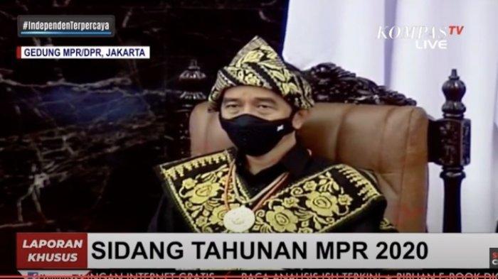 Mengenal Baju Adat Suku Sabu NTT yang Dipakai Jokowi di Sidang Tahunan MPR