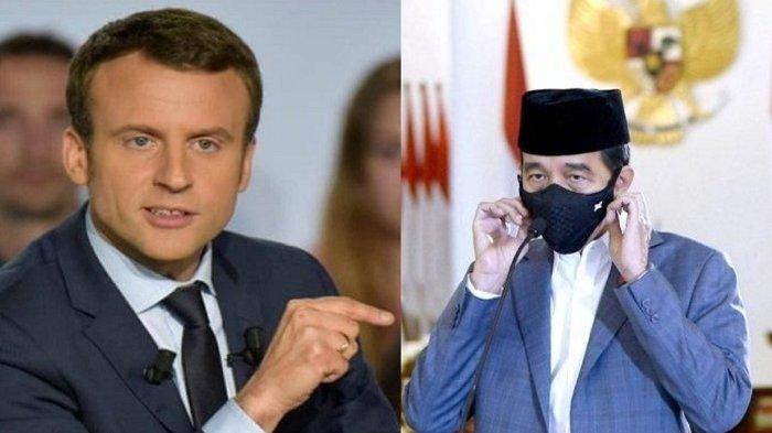 KLARIFIKASI Presiden Prancis Emmanuel Macron Sebut Banyak Kesalahpahaman, Jokowi: Indonesia Mengecam