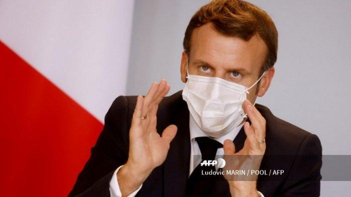 Komentar Terbaru Presiden Emmanuel Macron Tentang Islam Ajak Negara Lain Gabung 50 Orang Dipenggal Warta Kota