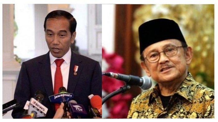 SIMAK! Bunyi Pesan BJ Habibie Paling Diingat Jokowi Hingga Menyebut Sosok yang Inspiratif Sejak Muda
