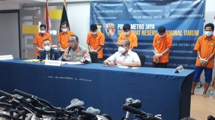 Tangkap Sindikat Pencuri Sepeda, Polisi Ungkap Ke Mana Sepeda yang Dicuri di Jakarta Dijual Penadah