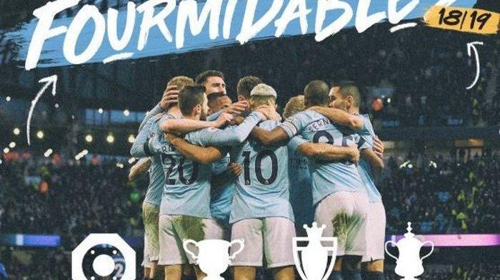 Manchester City Juara Piala FA, Ukir Trebel dalam Semusim