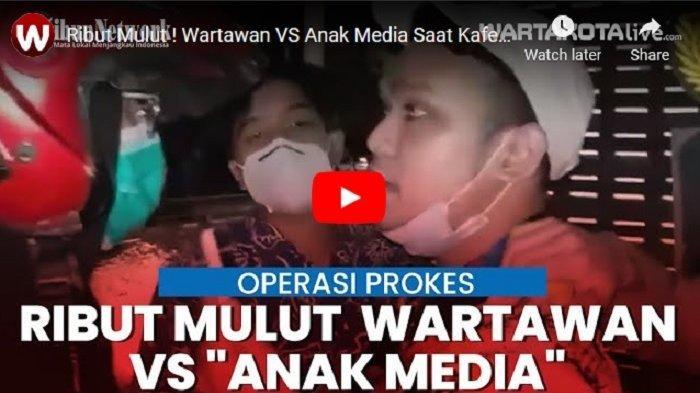 VIDEO Pria Ngaku Kerja di Media Massa Marah ke Wartawan Saat Petugas Sidak Prokes ke Kafe Milknya