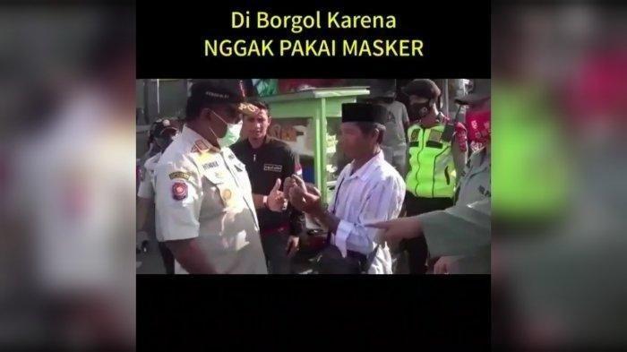 Seorang Pria Diborgol karena Tidak Pakai Masker, Satpol PP Kabupaten Bogor Berdalih hanya Bercanda