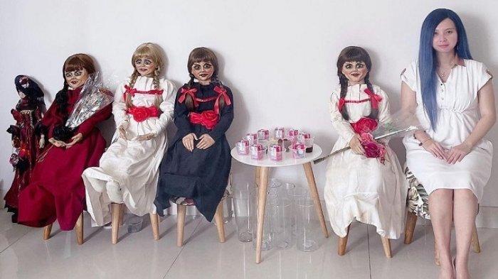 Priscilia Wibowo Punya Ratusan Koleksi Boneka Arwah Pernah Alami Kejadian Horor