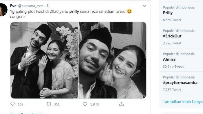 Heboh Prilly Latuconsina Nikah dengan Reza Rahadian Hingga ...
