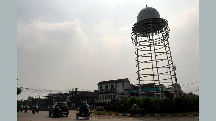 Kepala Dinas PUPR Provinsi Banten Sebut Pandemi Virus Corona Membuat Desain Tugu Pamulang Aneh