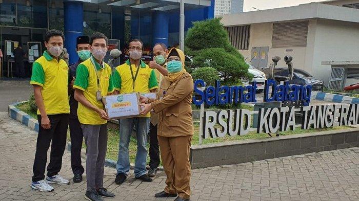 Covid-19, Deltomed Laboratories Beri Donasi 1 Juta Paket Antangin untuk Tenaga Medis dan Masyarakat