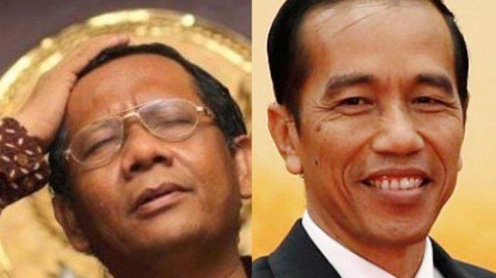 TERUNGKAP! Mahfud MD Sempat Bertemu Jokowi Bahas Revisi UU KPK