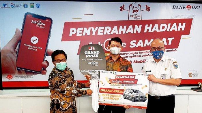 Apresiasi Wajib Pajak Kendaraan Bermotor, Bank DKI Beri Hadiah Mobil