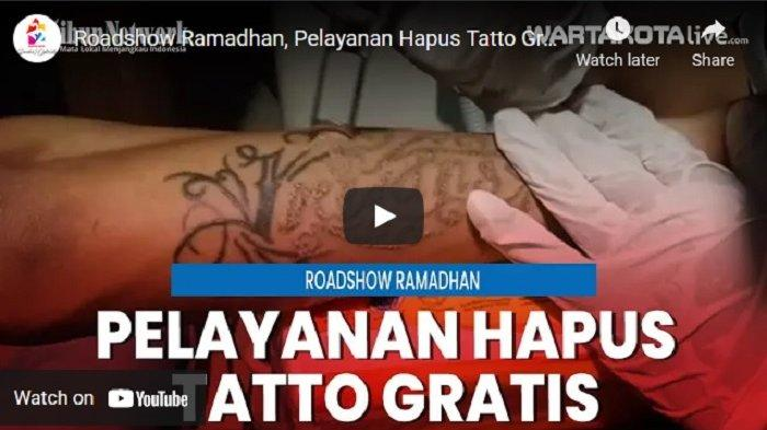 VIDEO Roadshow Ramadan, Pemprov DKI Jakarta Gelar Pelayanan Hapus Tatto Gratis