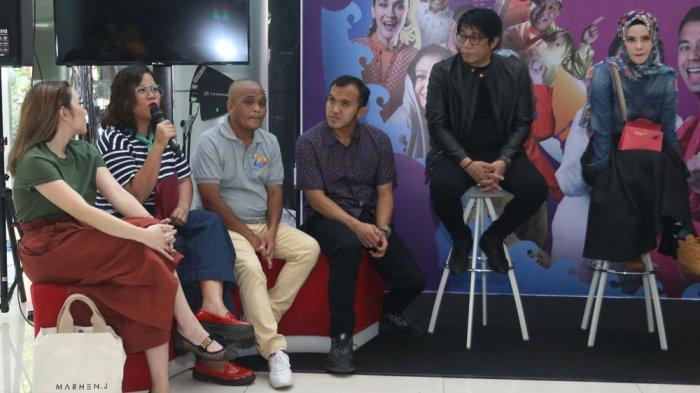 Sapri Pantun (ketiga dari kiri) saat peluncuran Program Ramadan ANTV 2019.