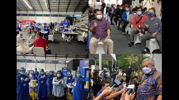 Bak Reuni Akbar Insan Pers, Tiga Hari Vaksinasi Covid-19 Awak Media Berjalan Lancar di GBK Senayan