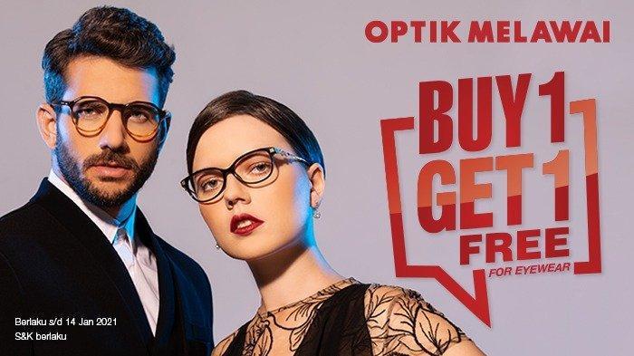 Nikmati Promo Menarik di Optik Melawai Jelang Akhir Tahun, Ada Promo Beli 1 Gratis 1 untuk Kacamata
