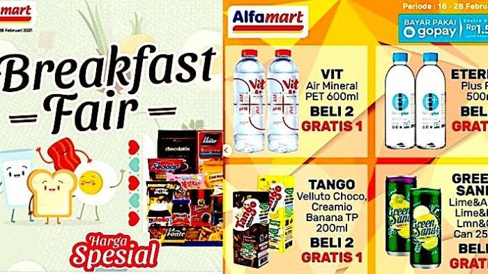 Promo Alfamart Hari Ini Mulai dari Serba Gratis, Promo Breakfast, Serba 5000, Serba 15.000