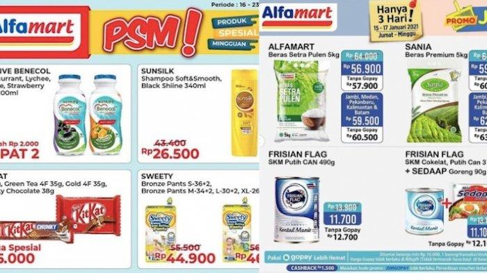 Promo Alfamart Minggu 17 Januari, Harga Spesial dan Diskon dari Popok, Beras, Minyak, Susu, Sampo