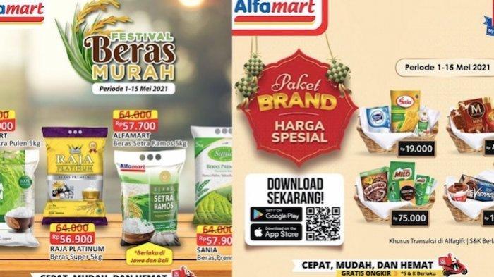 Update Promo Alfamart Rabu 5 Mei, Diskon Beras 5 Kg, Es Krim, Kue Kaleng, Minyak Goreng, Keju
