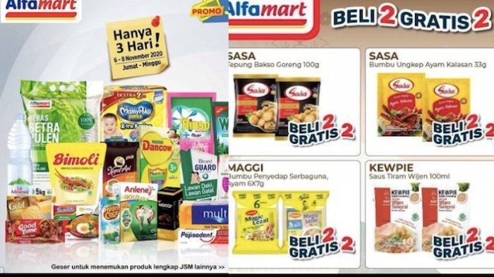 Promo Alfamart Minggu 8 November Beli 2 Gratis 2 Untuk Jus Tepung Bumbu Kecap Sampai Es Krim Warta Kota