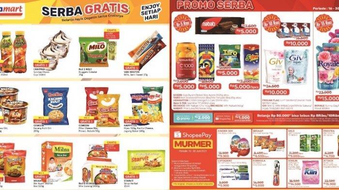 Katalog Promo Alfamart Terbaru 16-30 Juni Serba Gratis Hingga Harga Serba Rp 5000