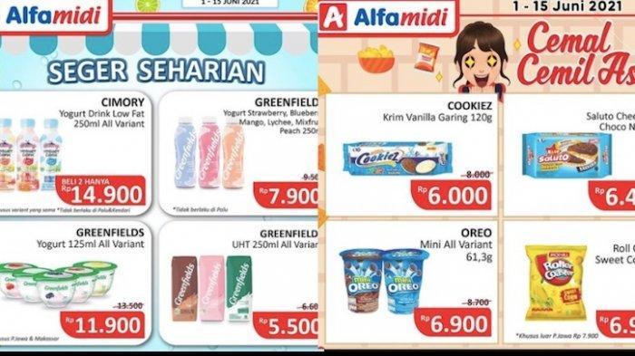 Promo Alfamidi Hemat Satu Pekan Mulai dari Minuman, Aneka Snack, Pampers, Susu Ibu Hamil