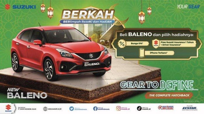 Momentum Ramadan, Suzuki Gelar Promo BERKAH, Beli Mobil dapat Motor