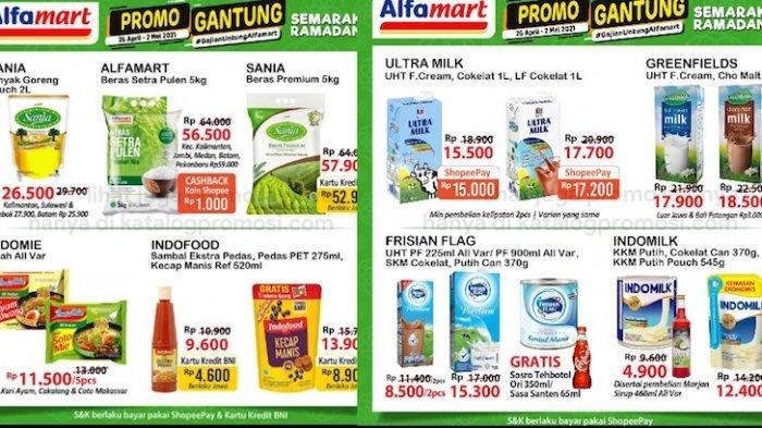 Promo Alfamart Gajian Untung 28 April Diskon Sampai 50 Persen, Beras, Minyak, Susu, Snack