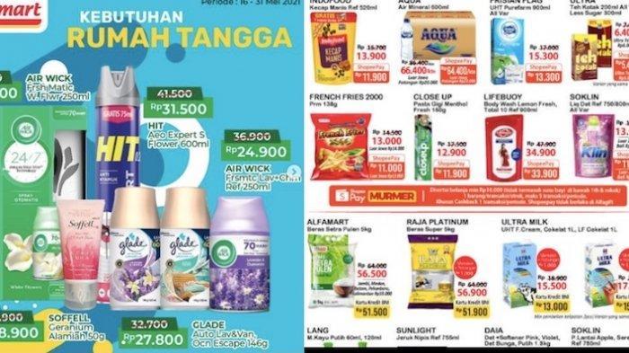 PROMO Gantung Alfamart 27 Mei Dapatkan Harga Kebutuhan dengan Hemat Sampai 50 Persen