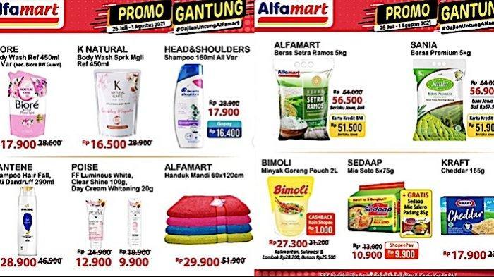 Katalog Promo Gantung Alfamart 26 Juli-1 Agustus, Dapatkan Diskon Minyak, Sampo, Susu dll