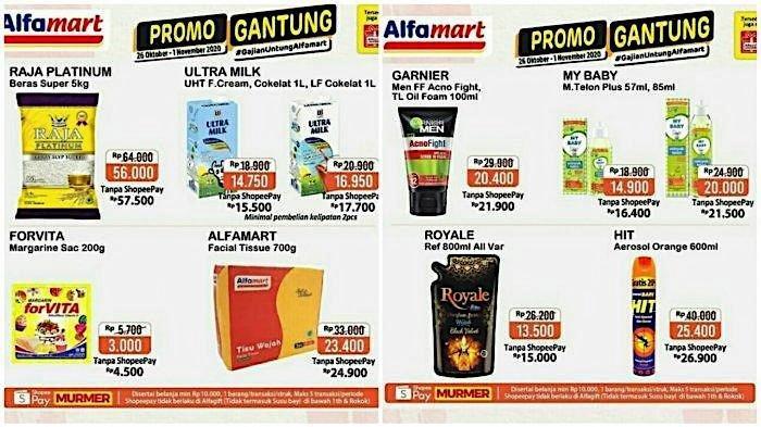 Katalog Promo Alfamart 29 Oktober 1 November Turun Harga Beras Minyak Goreng Hingga Popok Warta Kota