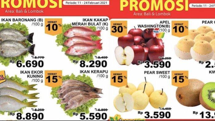 Promo Giant Rabu 24 Februari Diskon Sampai 45 Persen Aneka Buah, Ikan, Ayam, Susu Cair