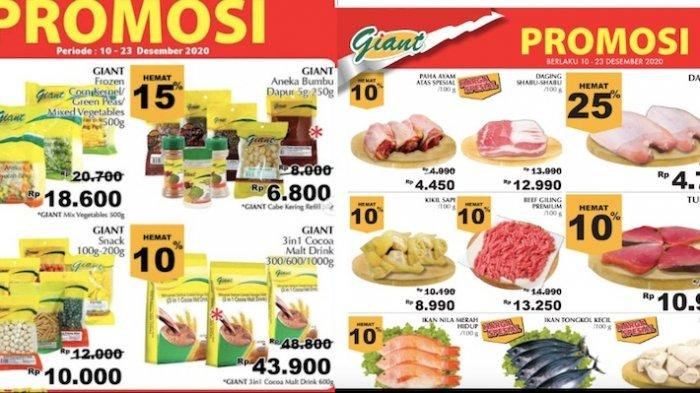 Promo Giant Terbaru Gebyar Diskon Akhir Tahun Hemat 10-40 Persen dari Daging, Makanan Beku