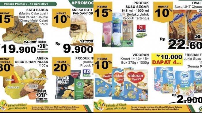 Promo Giant Weekday Dapatkan Diskon Kebutuhan Ramadhan Sampai 30 Persen, Senin 12 April