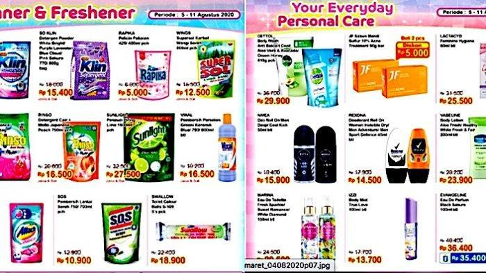 Promo Indomaret 10-11 Agustus, Masih Banyak Diskon dari Sabun Cuci Sampai Kebutuhan Mandi