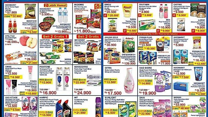 PROMO Indomaret Hari Minggu 10 Januari Harga Hemat Susu Bubuk, Minyak, Beli 2 Gratis 1