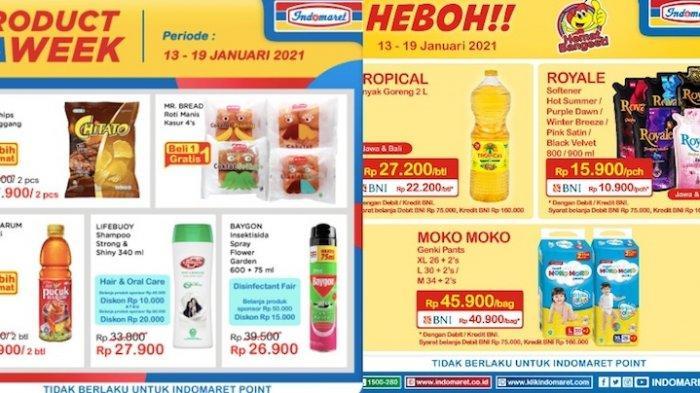 Promo Indomaret Senin 18 Januari Harga Superhemat Minyak Goreng, Pewangi Pakaian, Beli 1 Gratis 1